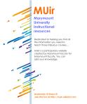 MU Instructional Resources