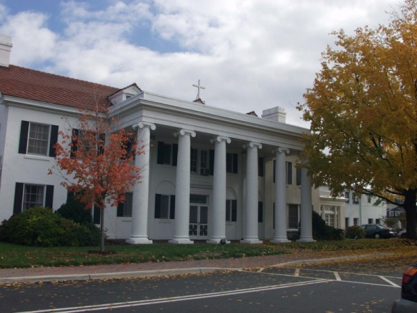 Main House (general view), Marymount University